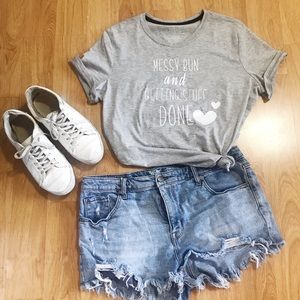 Tops - Messy Bun & Getting Stuff Done✨